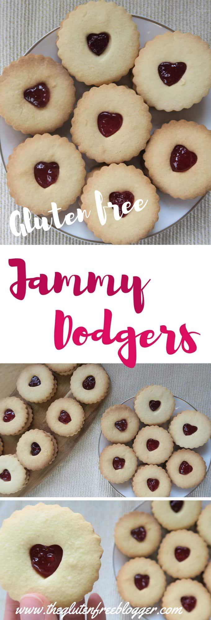 gluten free jammy dodgers - gluten free jammie dodgers - jammy dodgers recipe - jammie dodgers recipe - gluten free biscuits - gbbo - biscuit recipe - www.theglutenfreeblogger.com