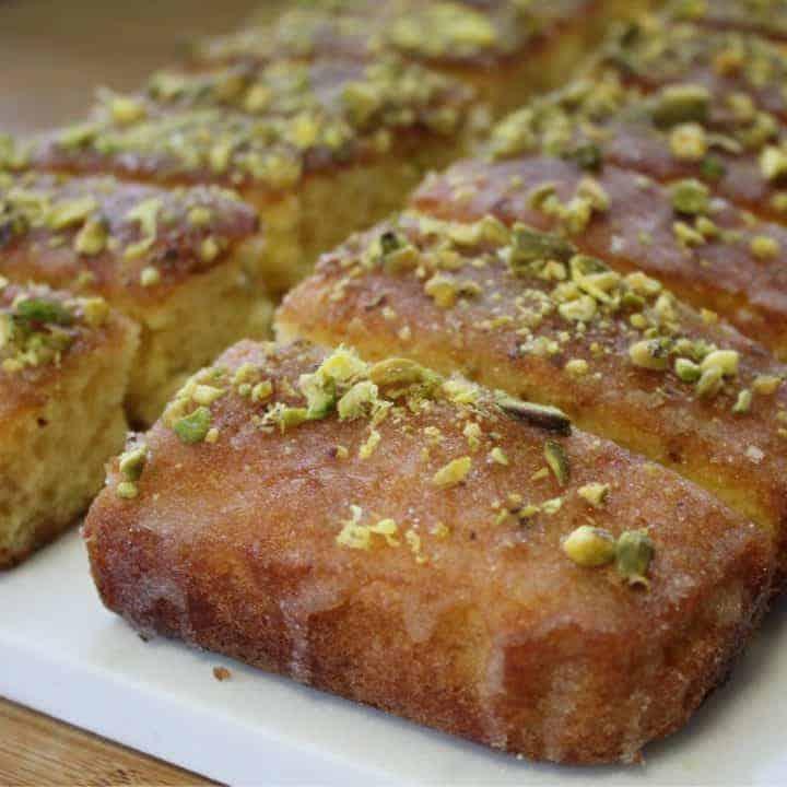gluten free lemon and pistachio drizzle cake 26_square
