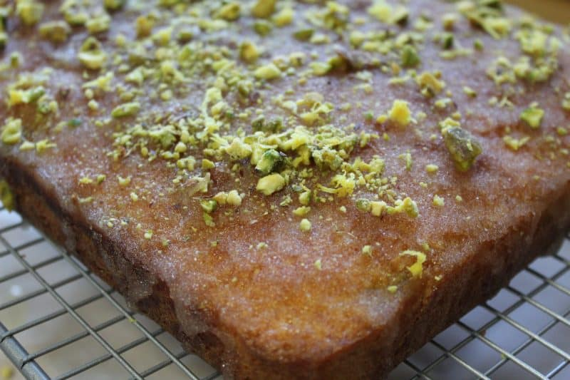 gluten free lemon and pistachio drizzle cake 29_square