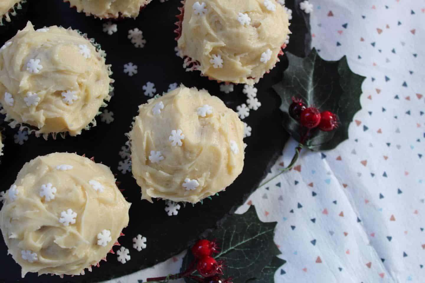 My deliciously decadent gluten free Baileys cupcakes