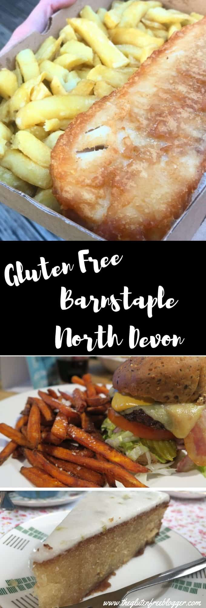 gluten free barnstaple - north devon - coeliac - restaurant - eating out