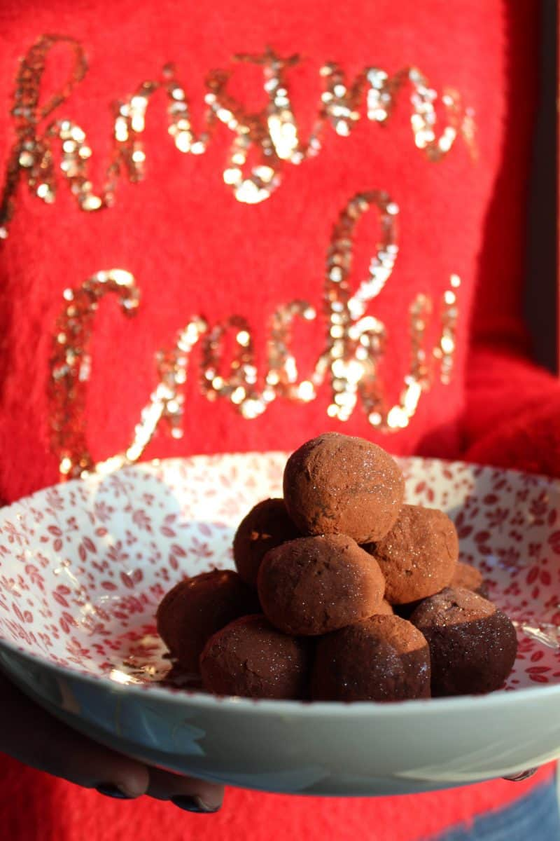 CHRISTMAS PUDDING TRUFFLES 7
