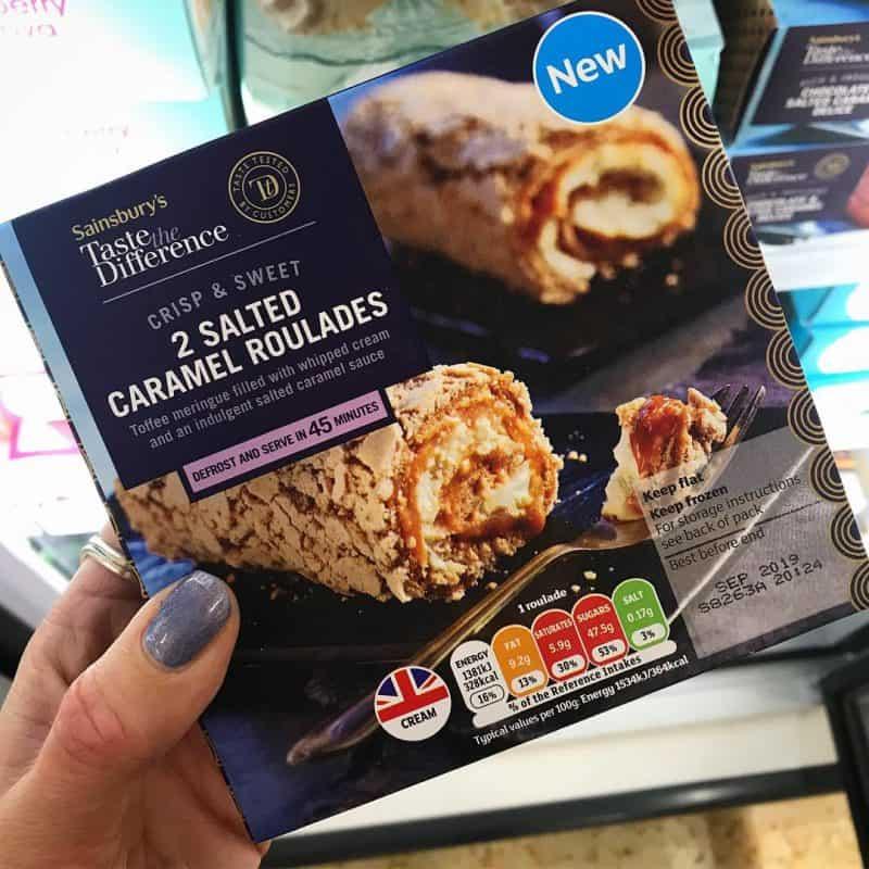gluten free roulade sainsburys
