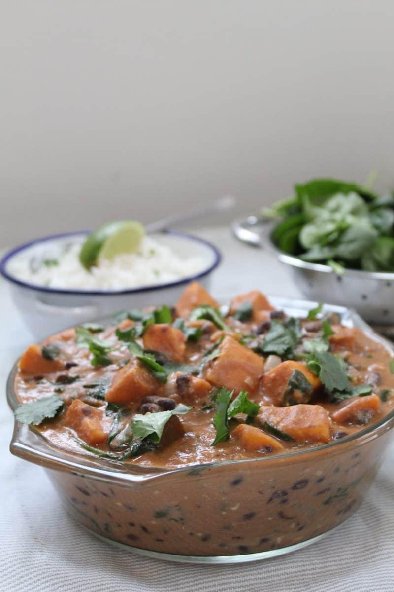 Sweet potato and peanut stew - gluten free vegan recipe