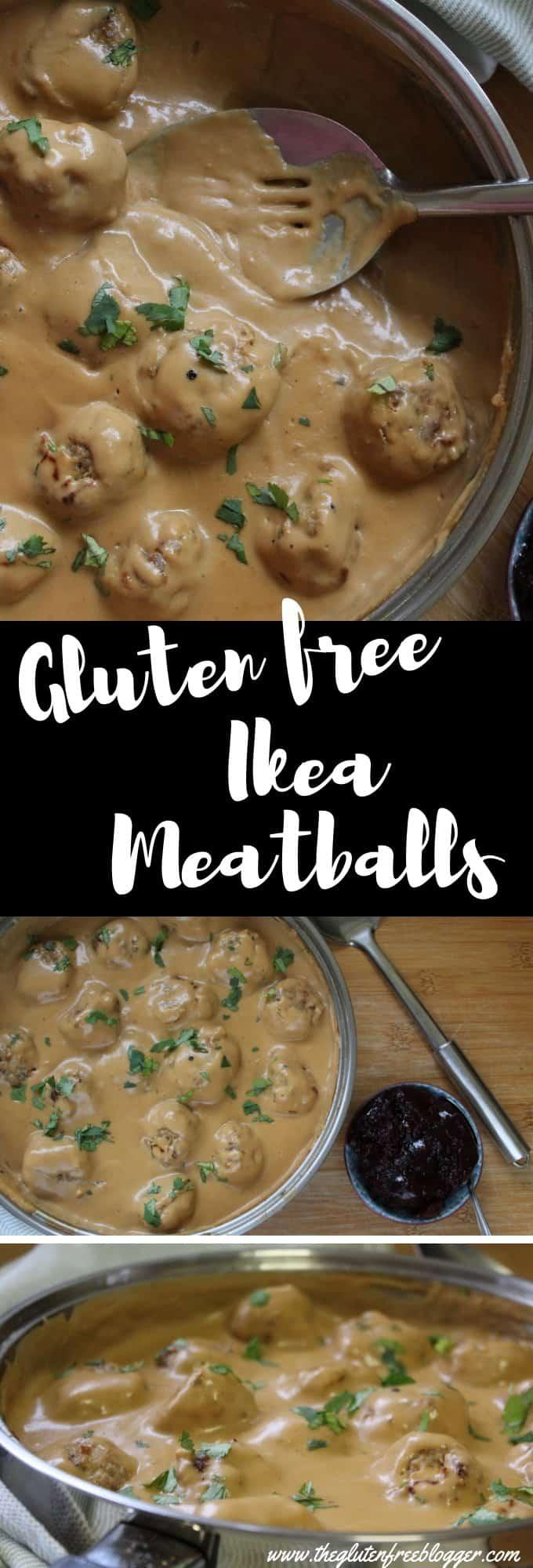 gluten free ikea meatballs pork meatballs recipe coeliac celiac