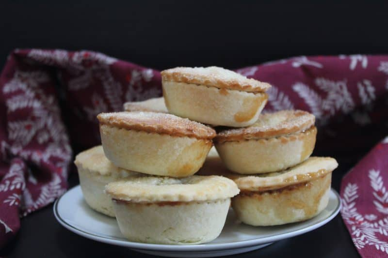 gluten free rum and salted caramel mince pies recipe 1