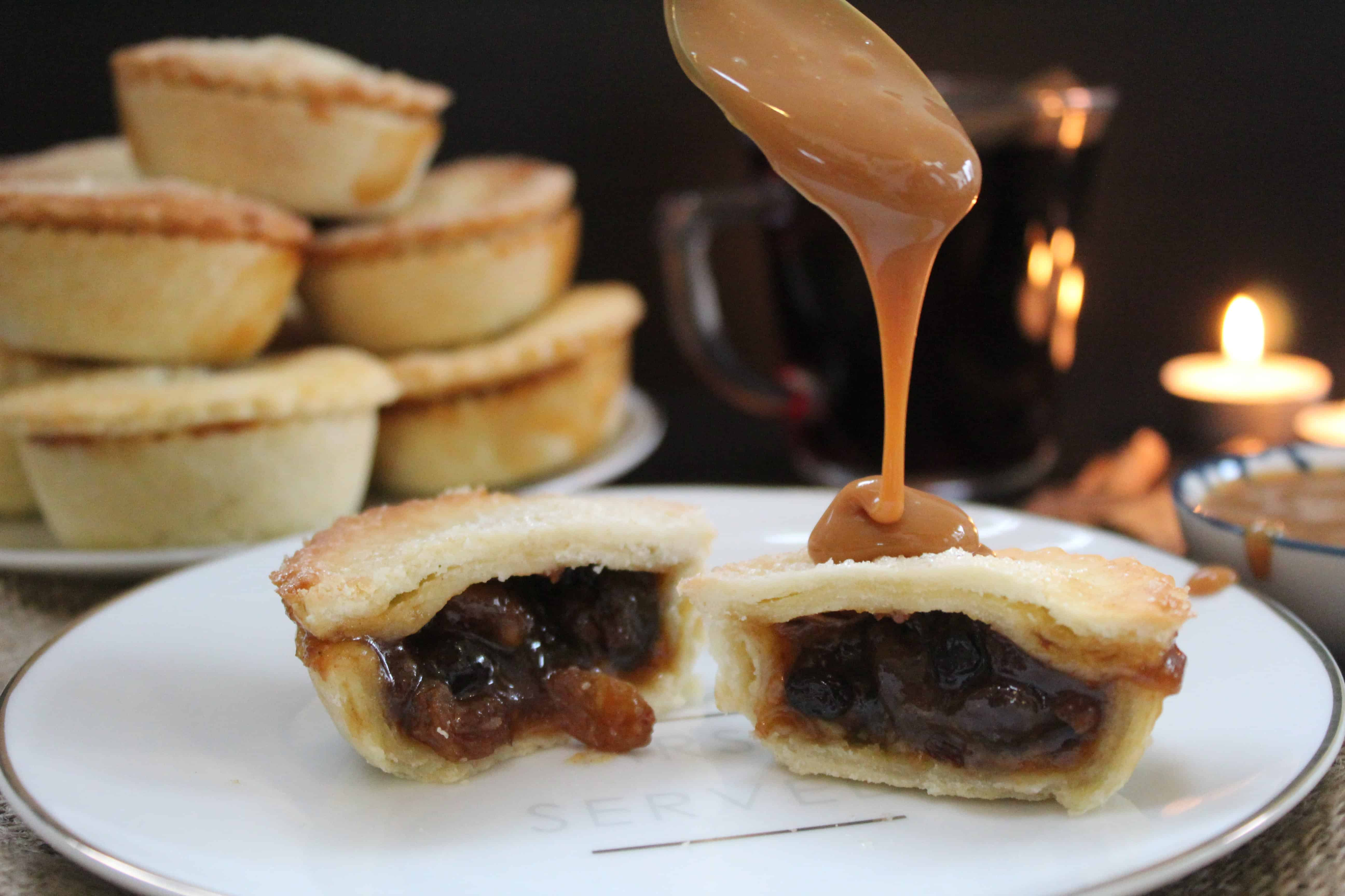 gluten free rum and salted caramel mince pies recipe 58