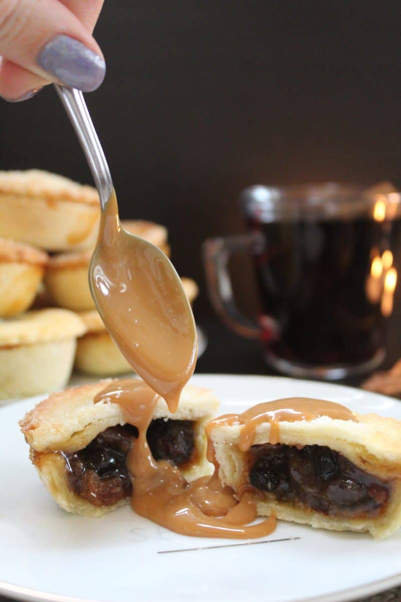 gluten free rum and salted caramel mince pies recipe 66