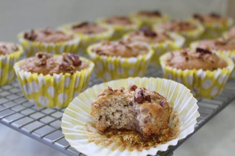 gluten free vegan banana muffins recipe