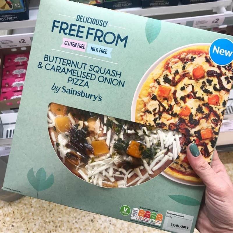 sainsburys gluten free vegan pizza