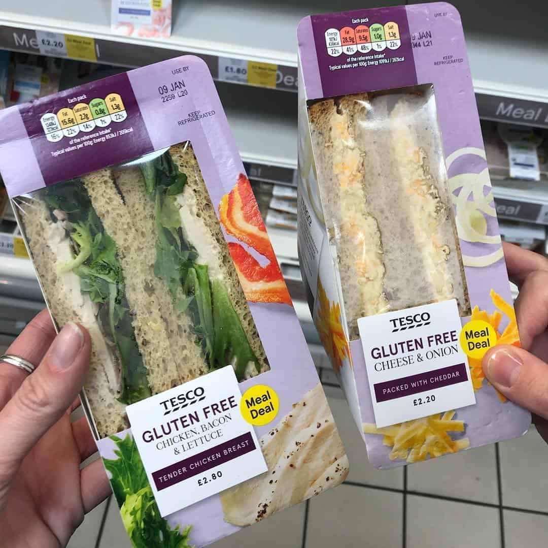 Tesco Gluten Free Sandwiches Meal Deal The Gluten Free Blogger