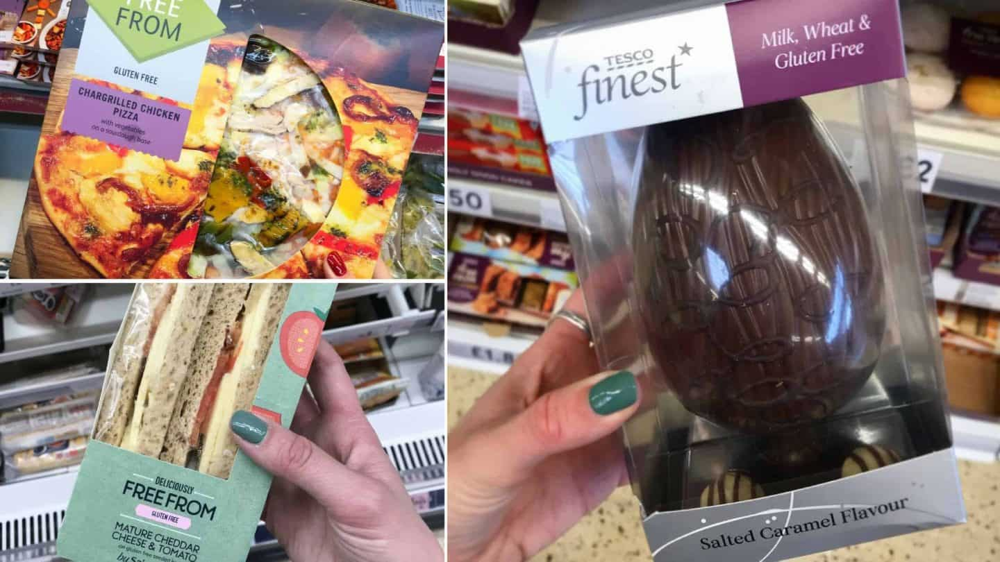 10 new gluten free products I've discovered in the supermarkets this week