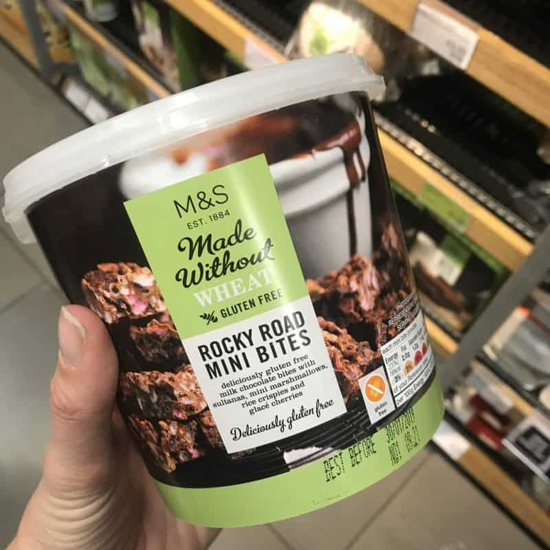 marks and spencer gluten free rocky road