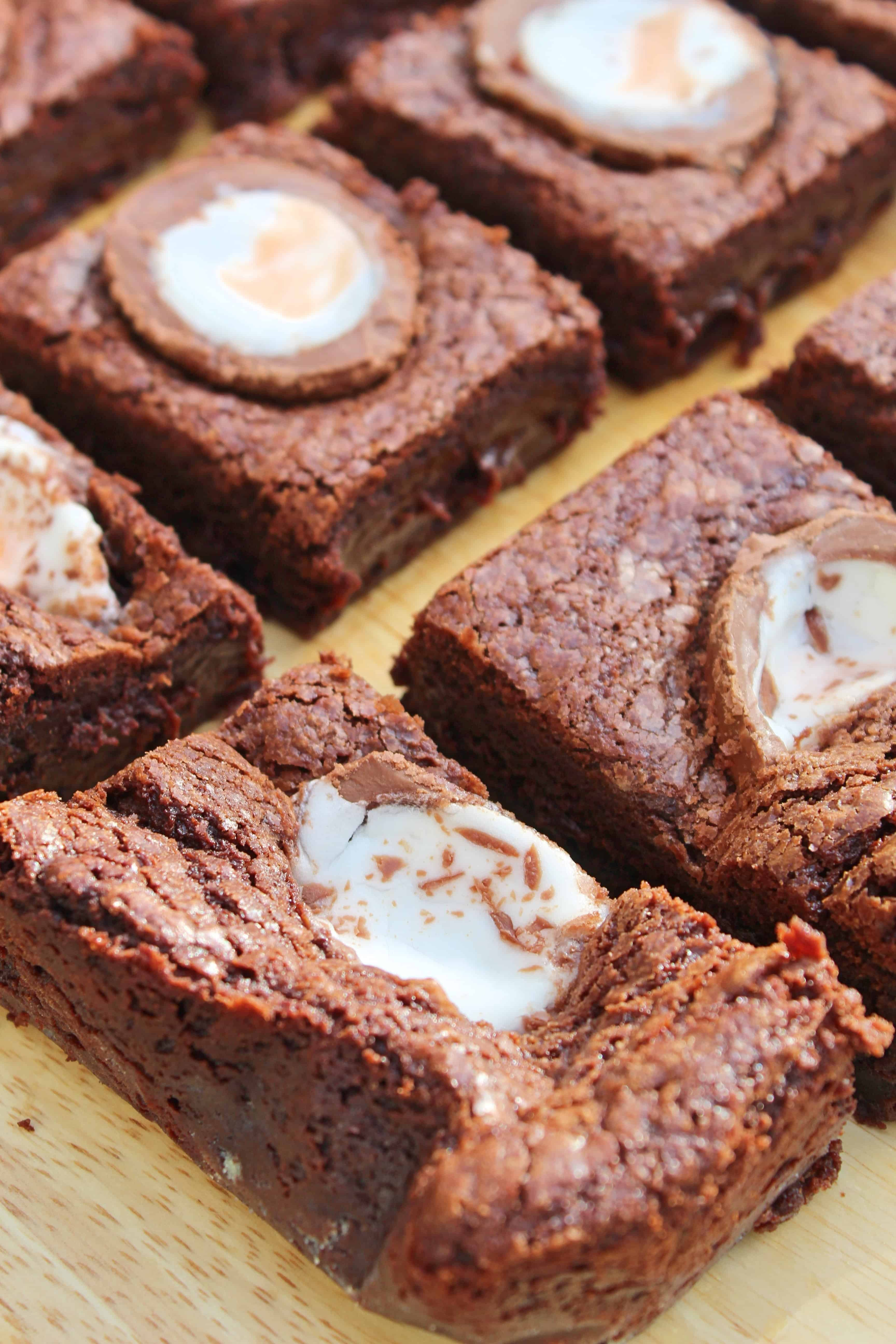 GLUTEN FREE CREME EGG BROWNIES RECIPE 41_Fotor
