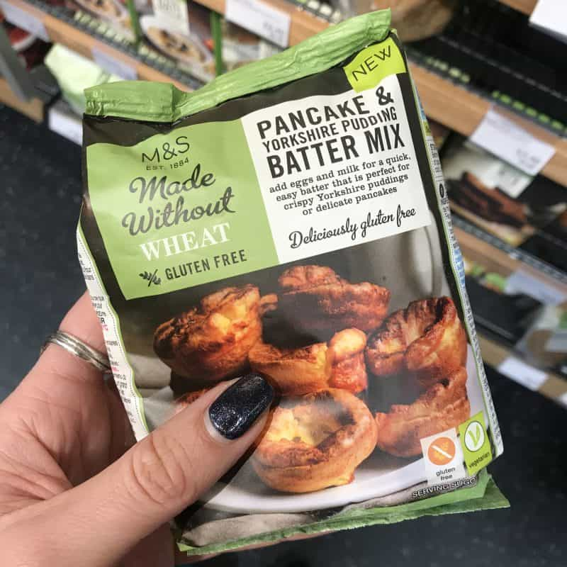 m&s gluten free pancake mix
