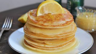 Gluten free gin and tonic pancakes