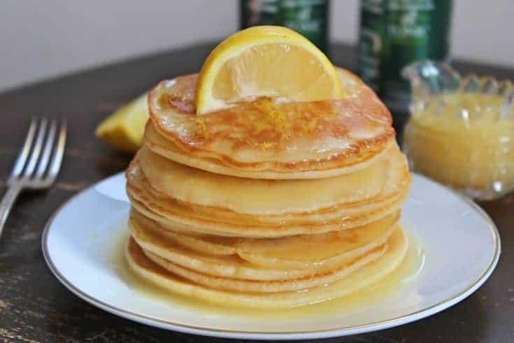Gluten free gin and tonic pancakes