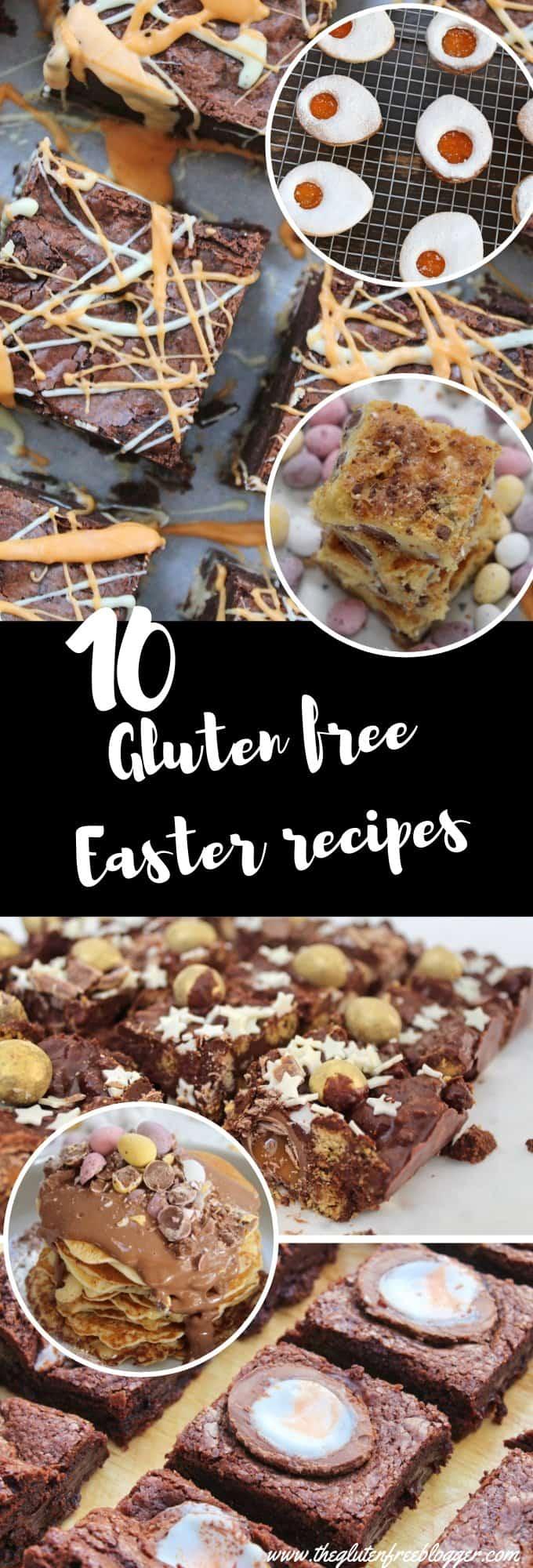 gluten free easter recipes bakes coeliac celiac