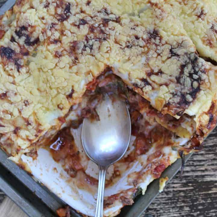 gluten free lasagne recipe with spinach