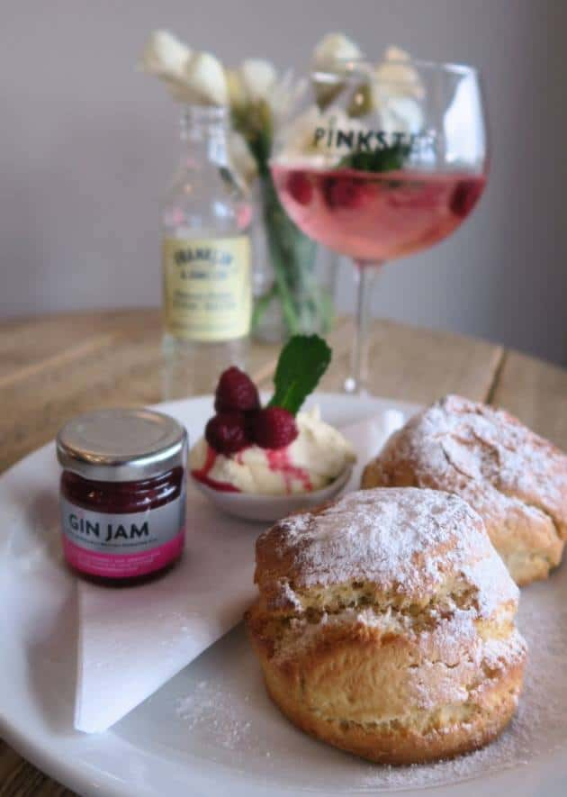 gluten free north devon cream tea