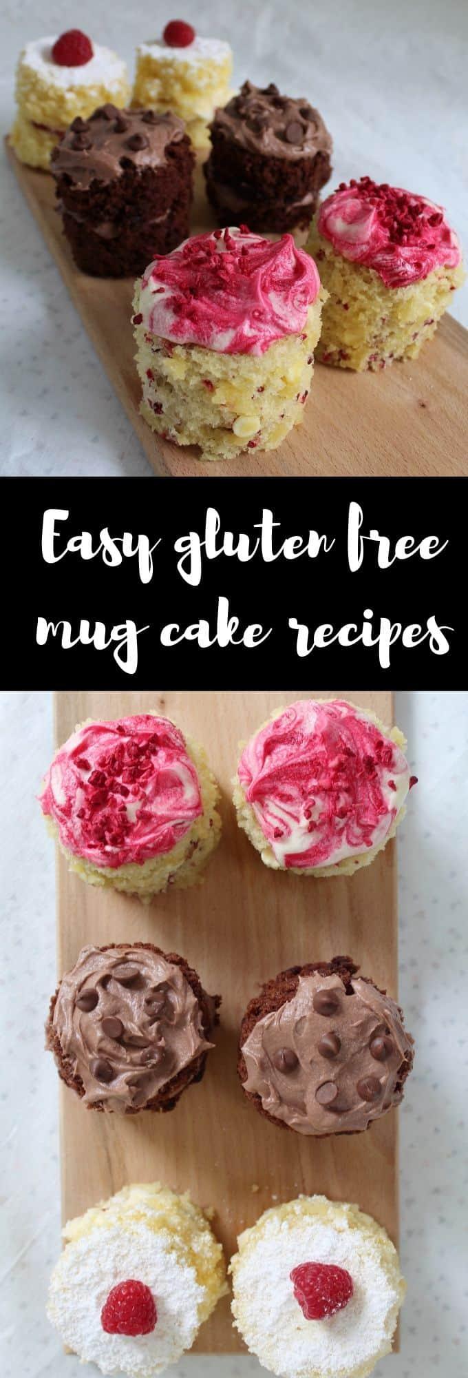 gluten free mug cake recipes - easy mug cake - coeliac friendly dairy free mug cake recipe