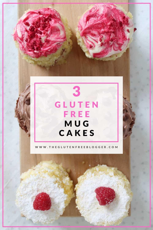 gluten free mug cakes three ways victoria sandwich chocolate cake raspberry white chocolate