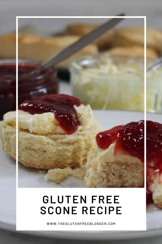 gluten free scone recipe coeliac baking celiac biscuit cream tea (2)