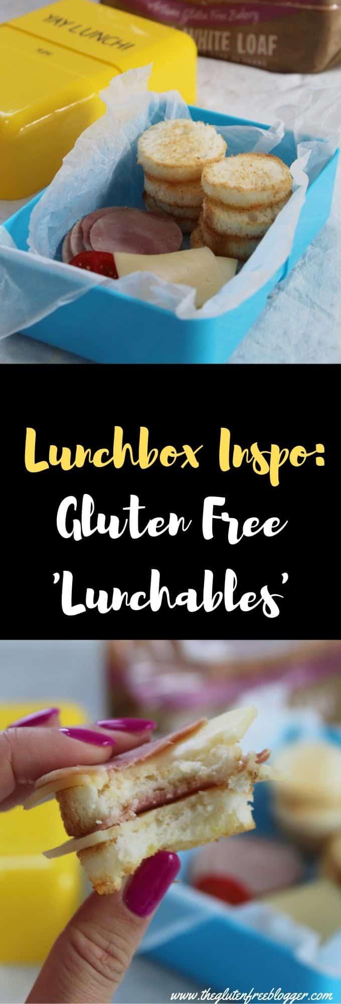 gluten free lunchbox ideas - gluten free children, coeliac children, lunch ideas for kids DIY lunchables