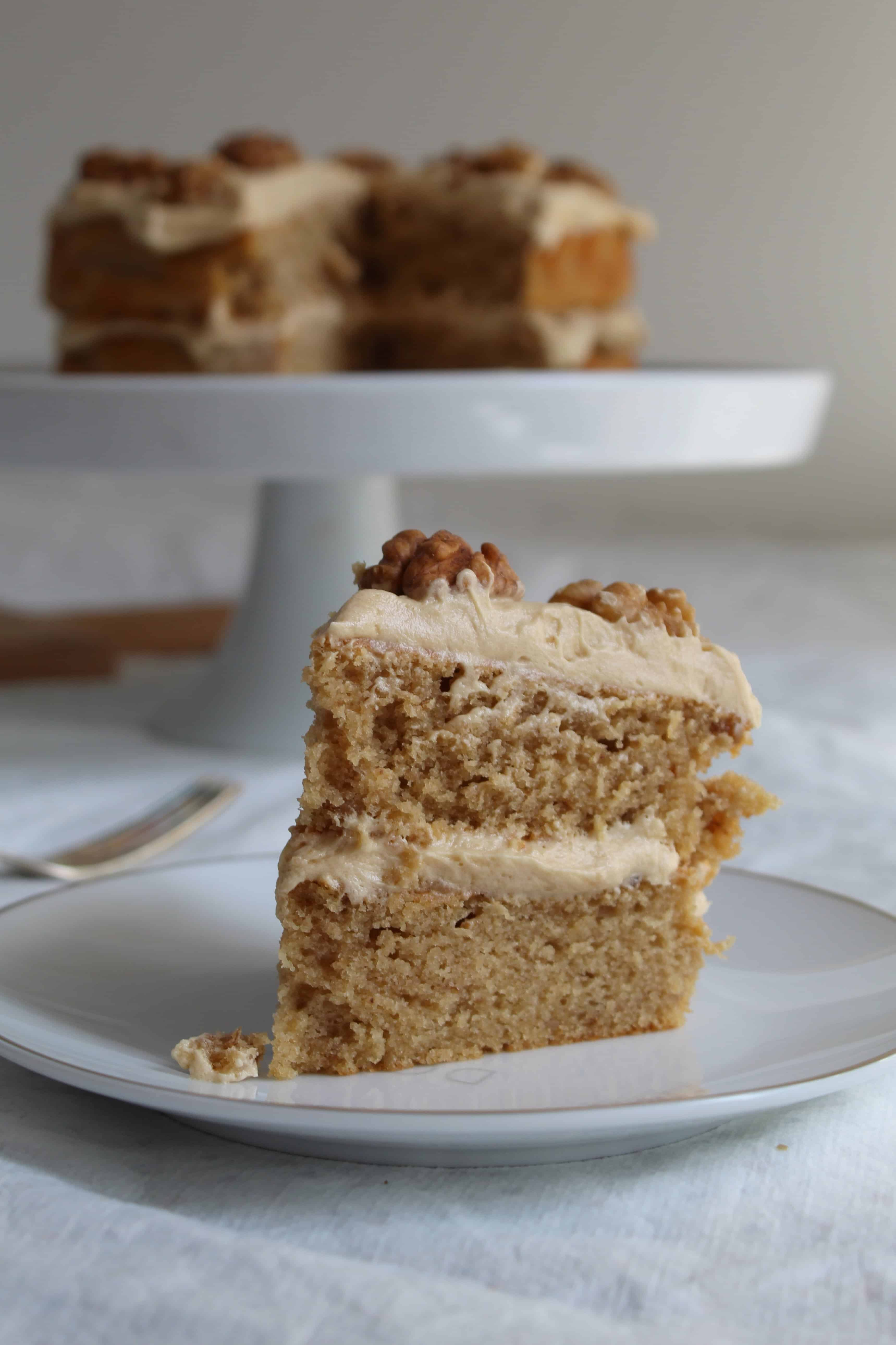 GLUTEN FREE COFFEE AND WALNUT CAKE RECIPE WITH BUTTERMILK 49
