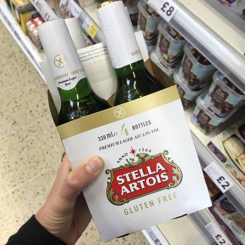 gluten free beers uk stella artois