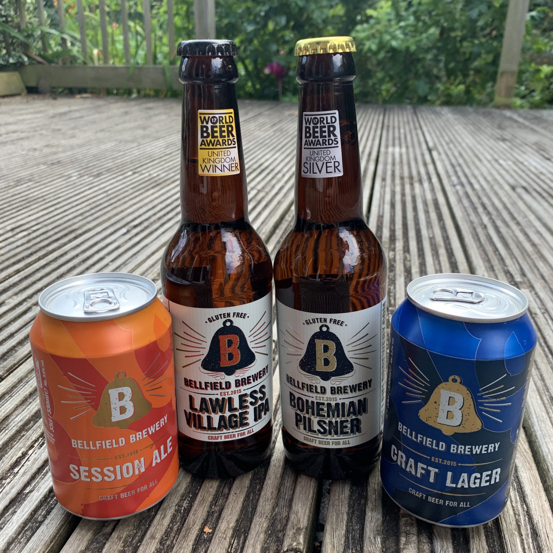 gluten free beers uk bellfield brewery