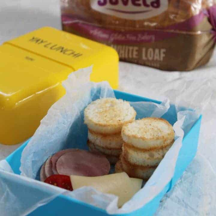 Gluten free DIY Lunchables