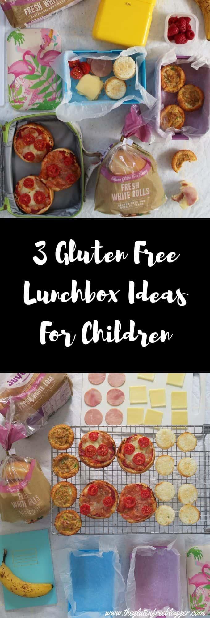 gluten free lunchbox ideas - gluten free children, coeliac children, lunch ideas for kids