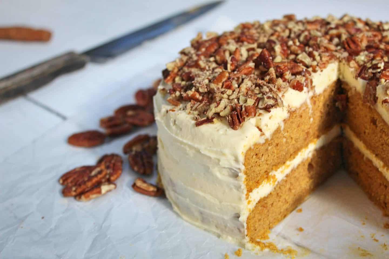 gluten free pumpkin spice latte cake recipe 131