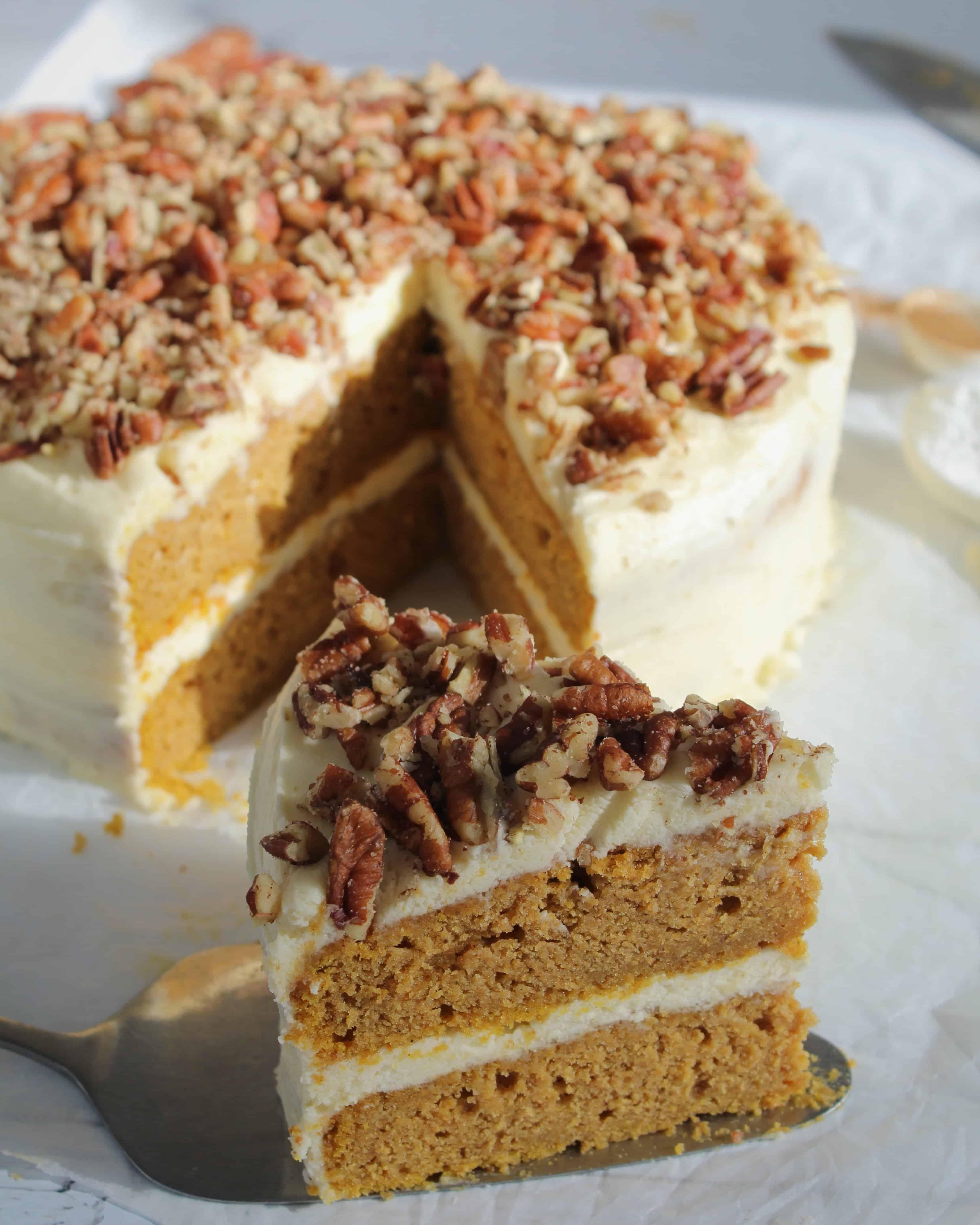 gluten free pumpkin spice latte cake recipe 99 - The ...