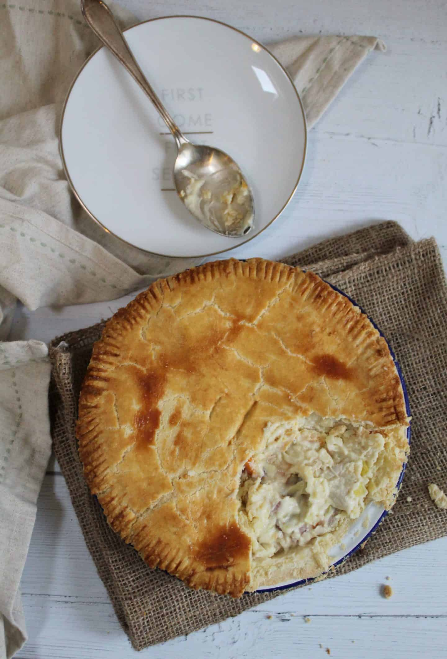 GLUTEN FREE CHICKEN AND HAM PIE RECIPE 18