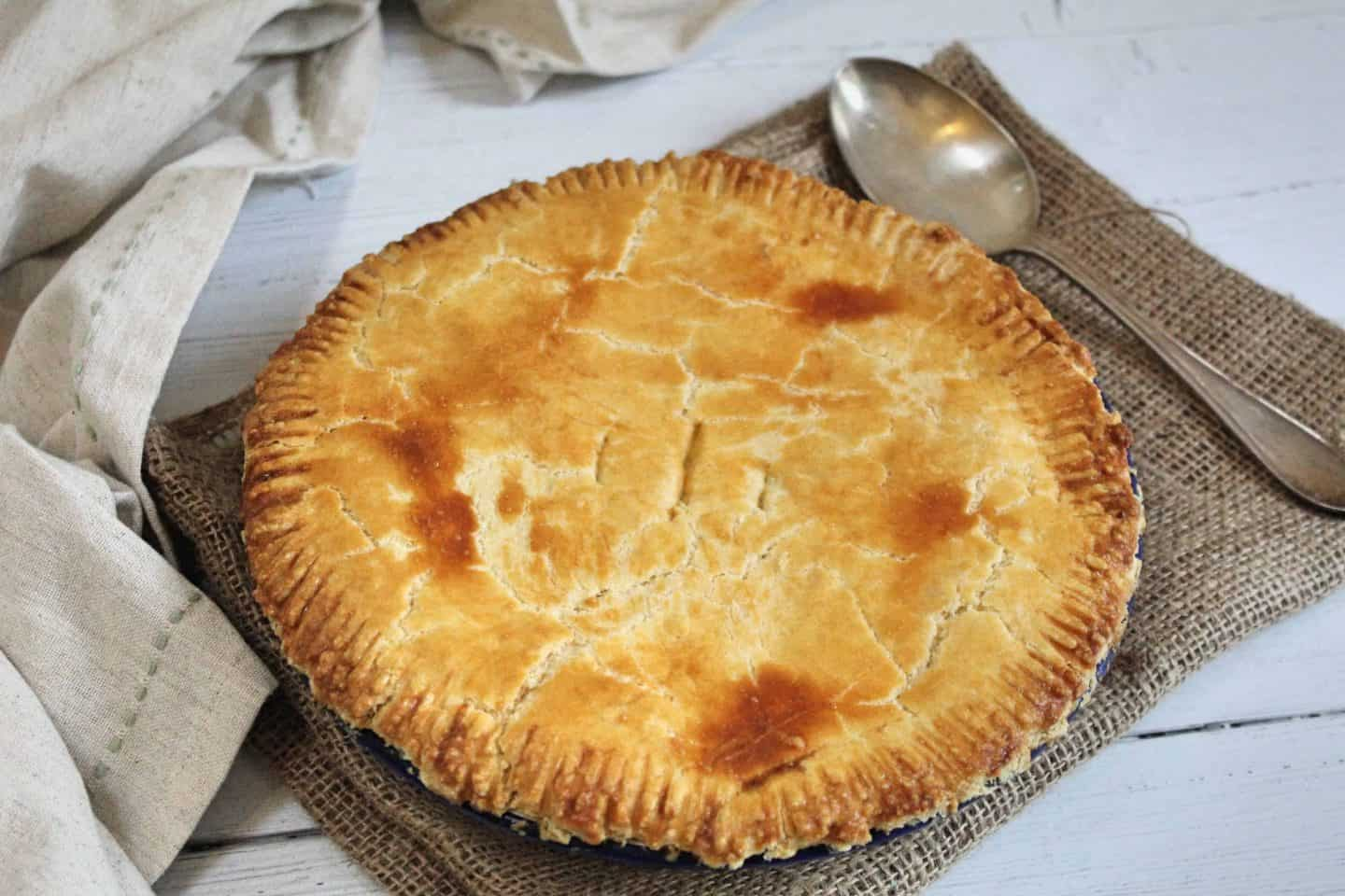 GLUTEN FREE CHICKEN AND HAM PIE RECIPE