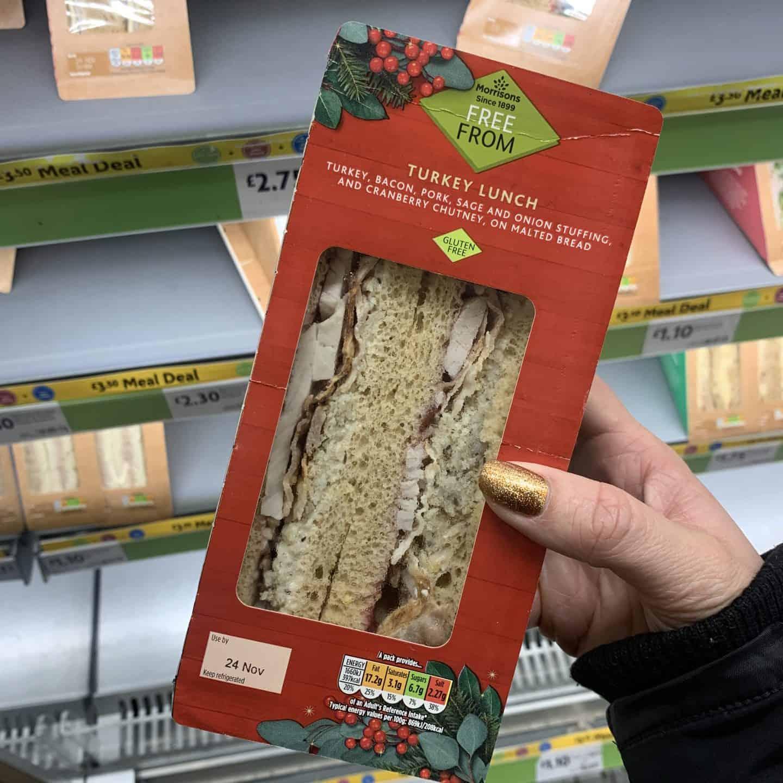 morrisons gluten free christmas sandwich