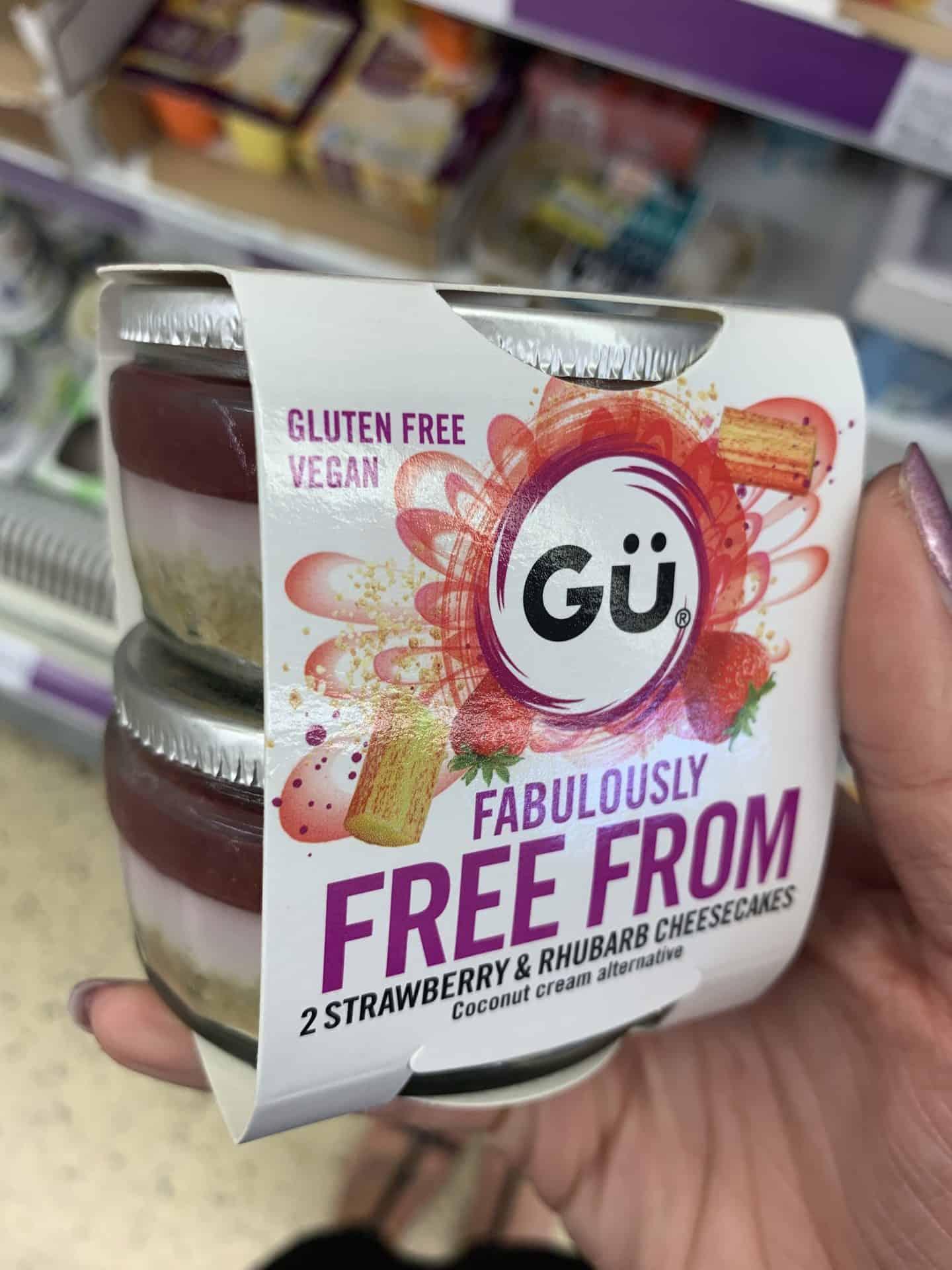gu gluten free vegan puddings