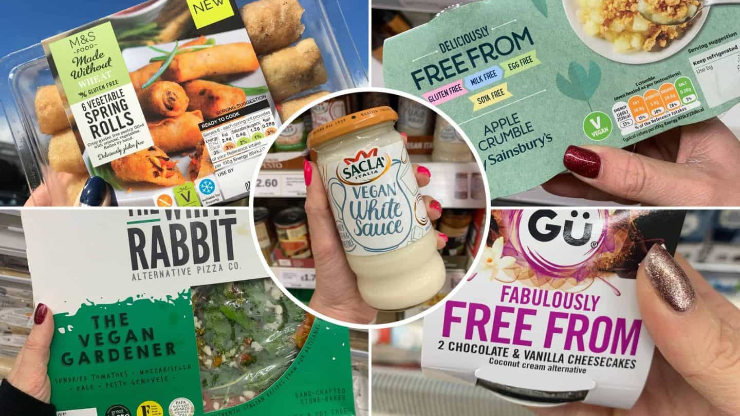 gluten free and vegan products