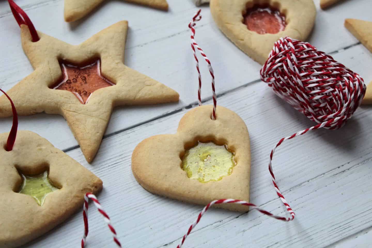 gluten free stained glass window biscuits 13