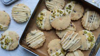 Festive gluten free shortbread