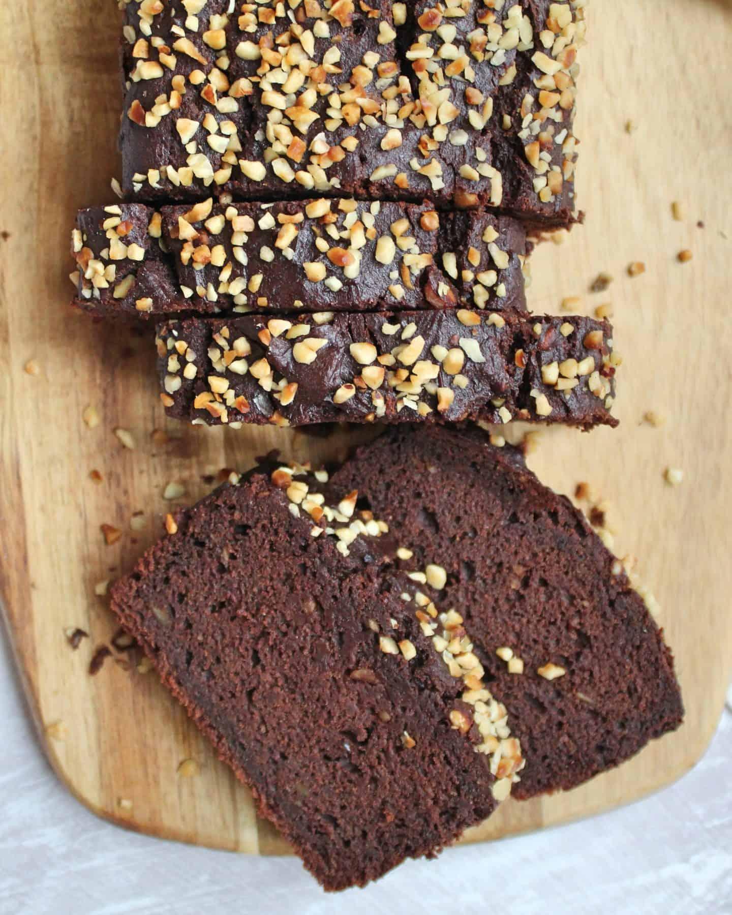 gluten free vegan chocolate banana bread recipe veganuary