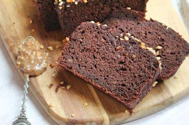 Banana and chocolate loaf cake (gluten free and vegan)