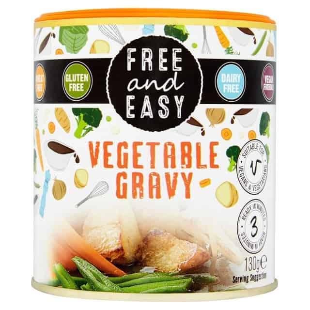 gluten free vegetaran christmas gravy