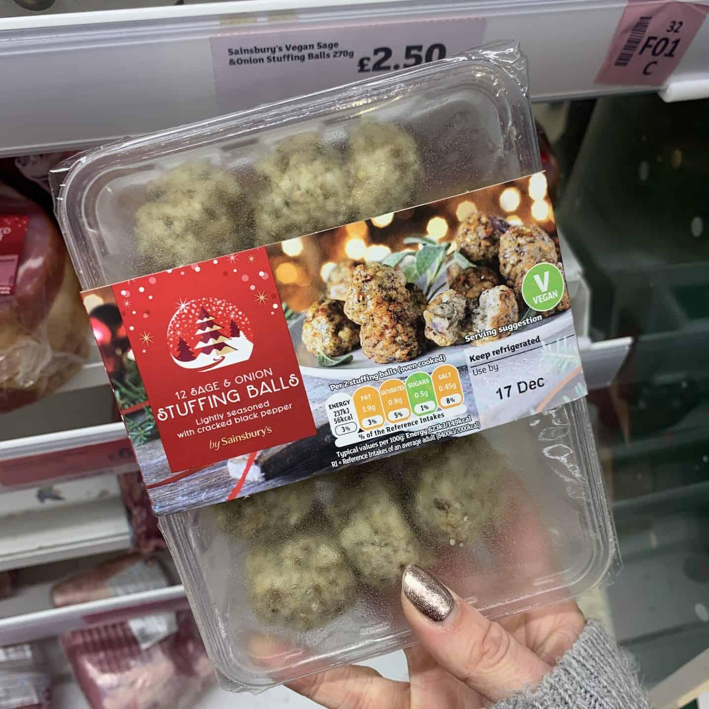 sainsburys gluten free vegetarian stuffing