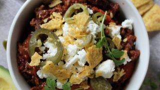 Gluten free chilli con carne