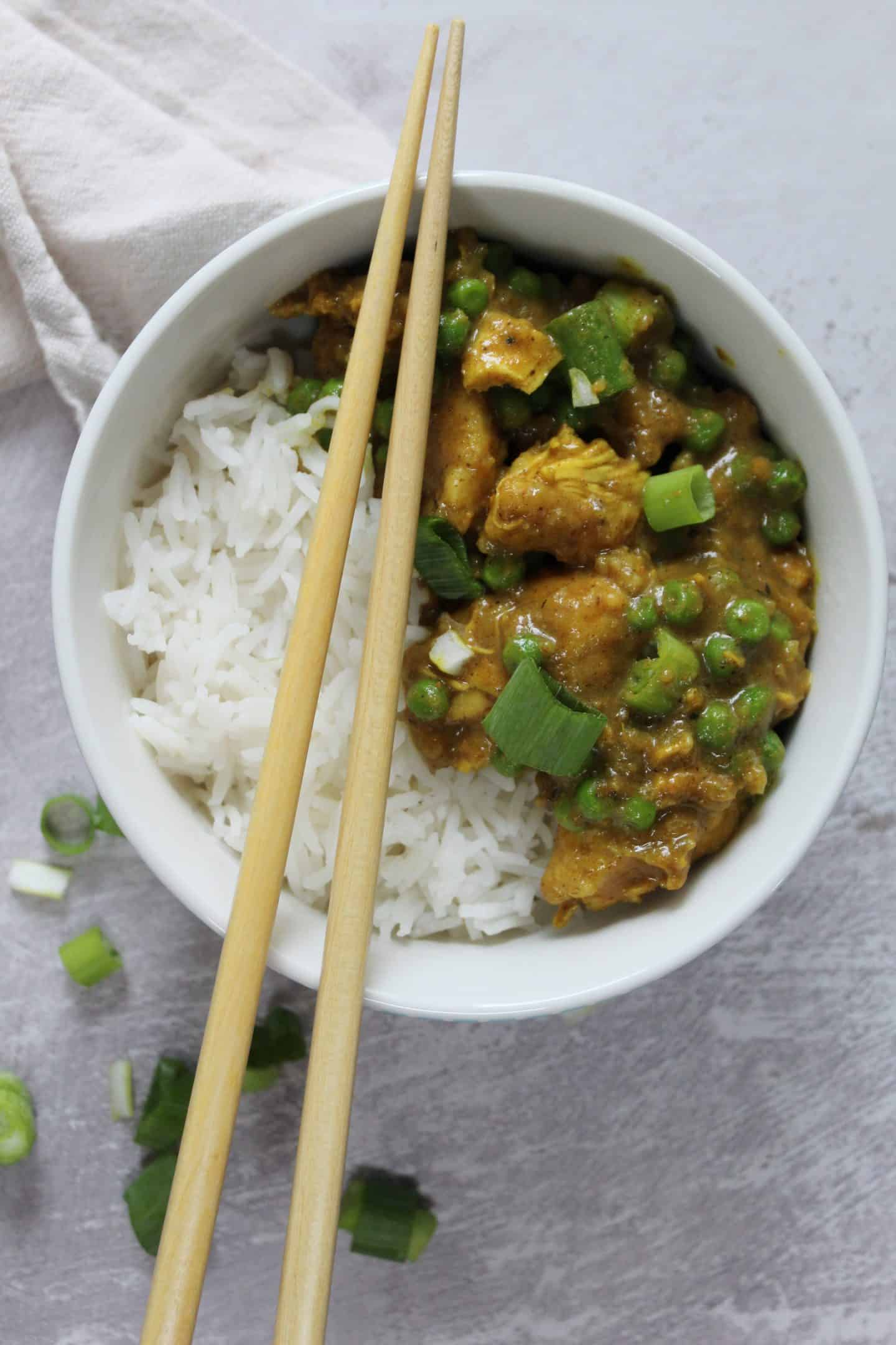 GLUTEN FREE CHINESE CURRY RECIPE