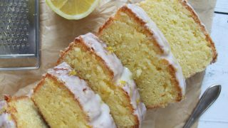 My gluten free lemon drizzle cake recipe