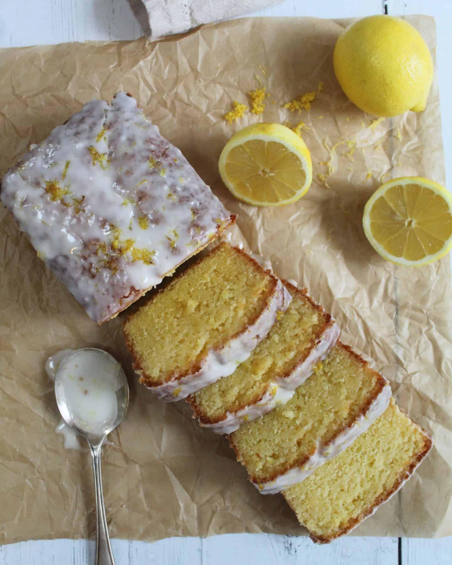 GLUTEN FREE LEMON DRIZZLE CAKE RECIPE 64